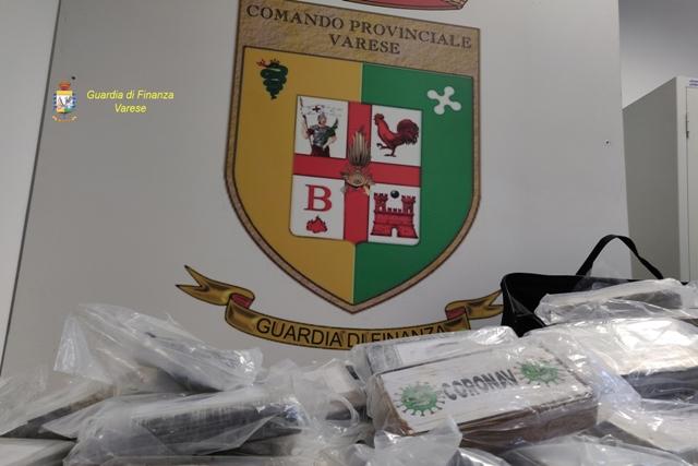 vedano cocaina arrestato corriere