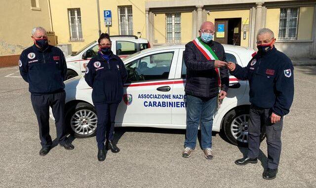 arsago auto associazione carabinieri somma