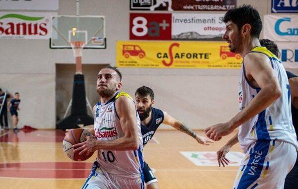 Basket serieB RoburVarese Sangiorgese