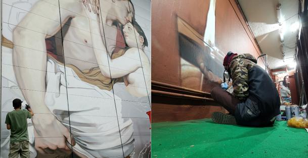 varese ospedale circolo murales ravo