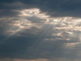 nubi monti piogge schiarite