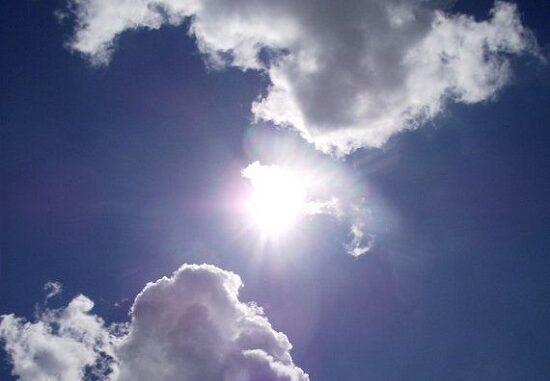 sole nuvole anticiclone perturbazioni