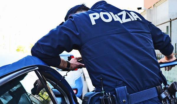 legnano polizia arresto evasione