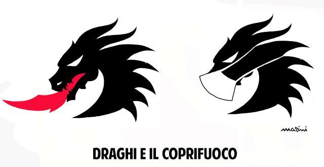 draghi coprifuoco