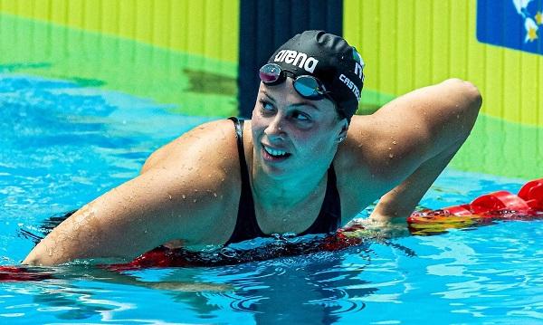 Arianna Castiglioni Europei Nuoto