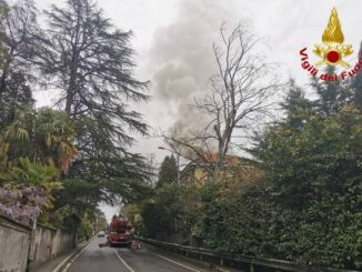 gavirate incendio via mazza