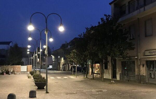 rescaldina lavori illuminazione pubblica