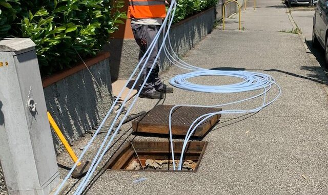 casorate fibra ottica rfi anas