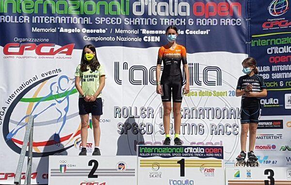 Pattinaggio Corsa Aurora Aiello Cardano