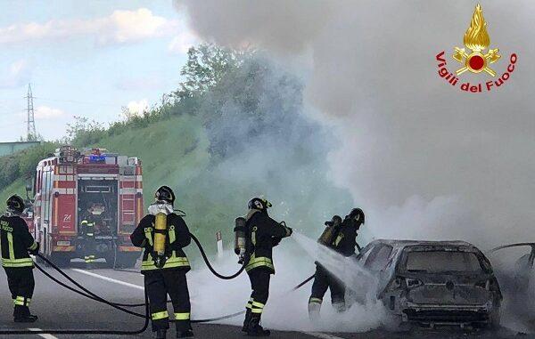 cislago pedemontana incendio vigilidelfuoco