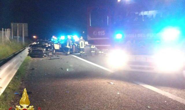 sesto besnate incidente autostrada