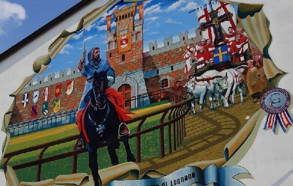 legnano murale palio battaglia