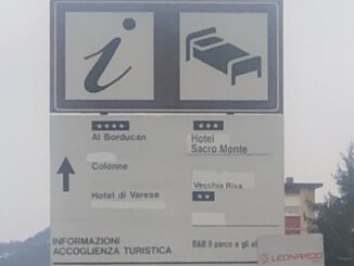 varese turismo cartelli albergo