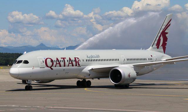 malpensa quatar airlines boeing
