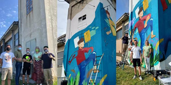 gorla maggiore murales