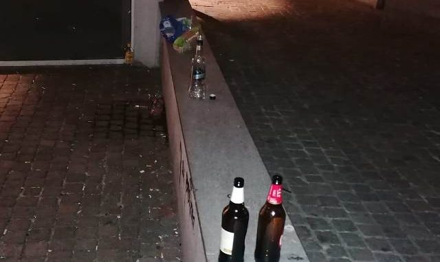 busto vendita bottiglie bar