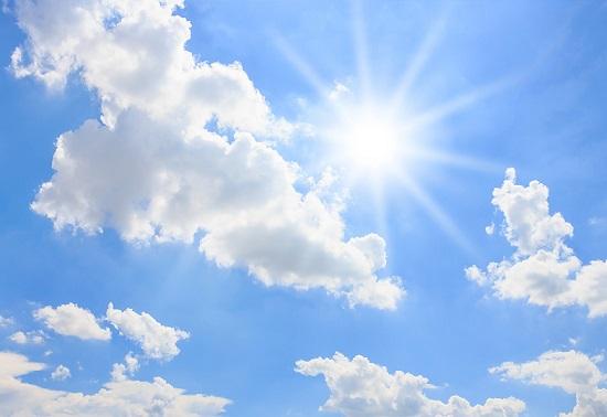 maltempo rovesci sole caldo