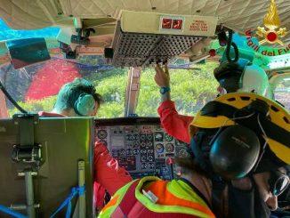 monteviasco escursionisti salvati elicottero