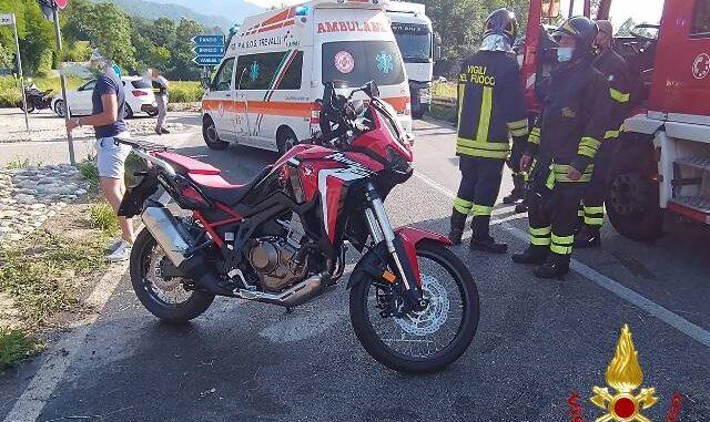 rancio incidente tre feriti