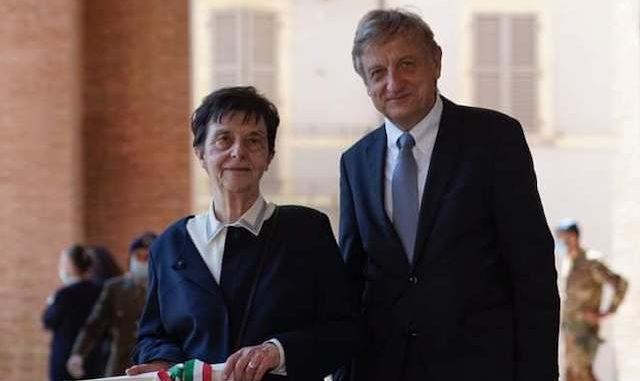 Bernhard Scholz con Emilia Guarnieri