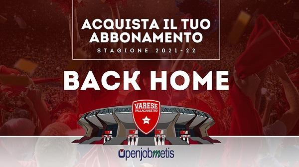 Pallacanestro Varese Back Home