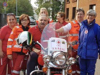 Varese Motogiro Croce rossa