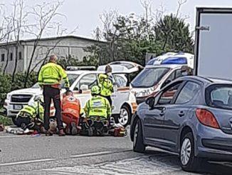 Lonate pozzolo incidente stradale