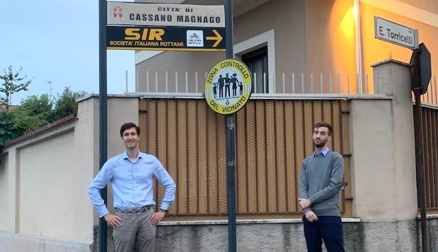Cassano Magnago controllo vicinato