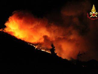 Incendi Campo dei Fiori