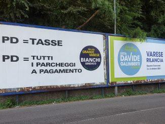 Varese campagna elettorale