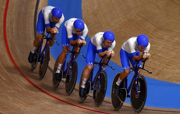 ciclismo olimpiadi quartetti pista