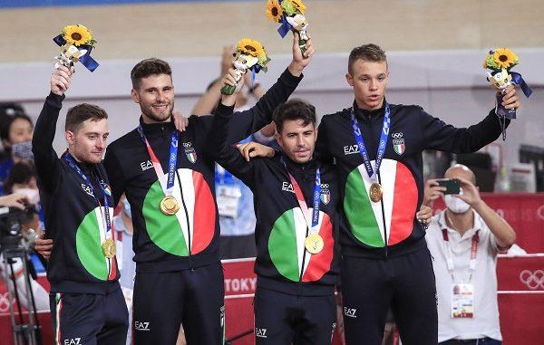 ciclismo quartetto oro olimpiade