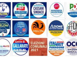 Gallarate elezioni 2021 candidati