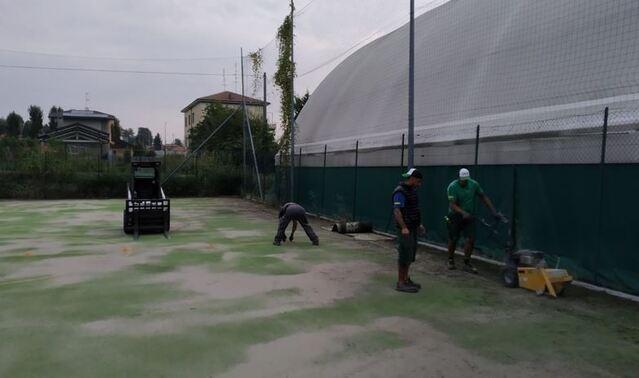 cavaria centro sportivo lavori