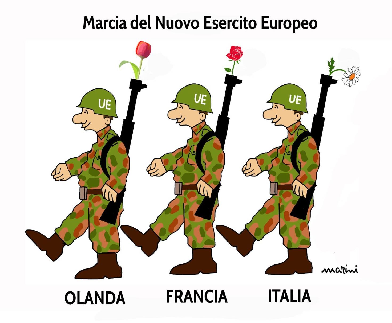 marini esercito europa