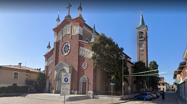 rescaldina festa patronale piazza chiesa parrocchiale