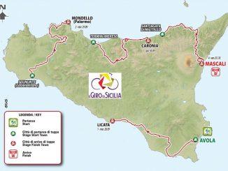 ciclismo giro sicilia