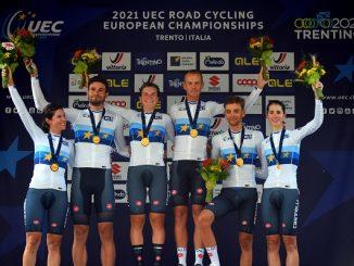 ciclismo mondiali staffetta