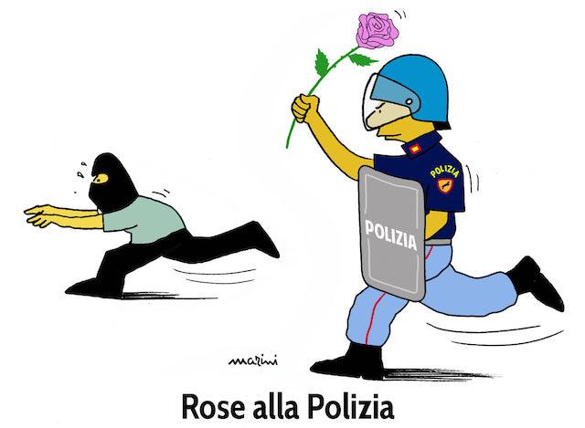 rose polizia