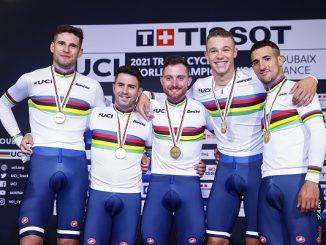 ciclismo pista quartetto