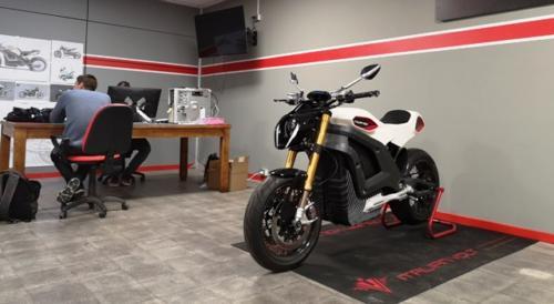 Italian Volt la moto elettrica
