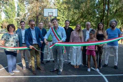 giogara332860-Inaugurazione campo basket