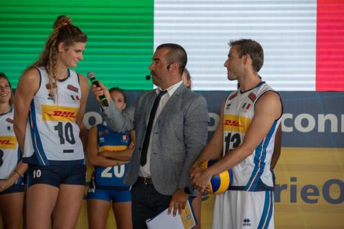 giogara337328-Presentazione nazionali volley Dhl