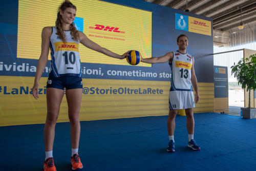 giogara337411-Presentazione nazionali volley Dhl