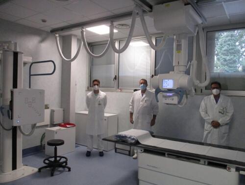 Gallera all'ospedale di Saronno